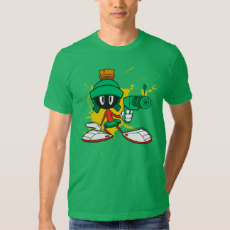 Marvin With Gun Tees