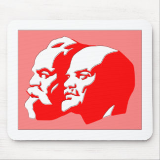 Marx And Lenin Mouse Pad