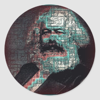 Marx Classic Round Sticker