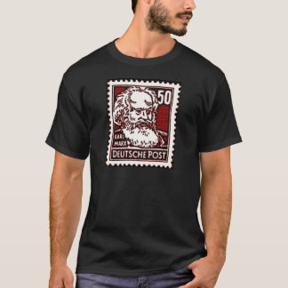 Marx DDR Stamp T-Shirt