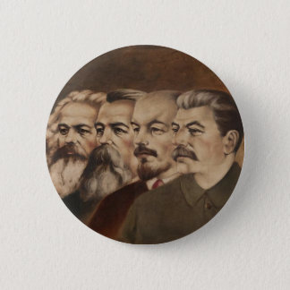 Marx, Engels, Lenin, and Stalin 2 Inch Round Button