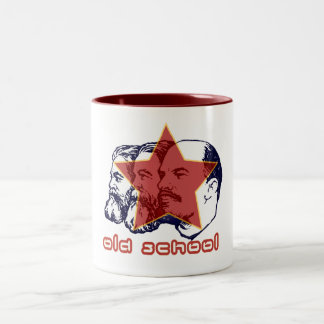 MARX ENGELS LENIN Two-Tone COFFEE MUG
