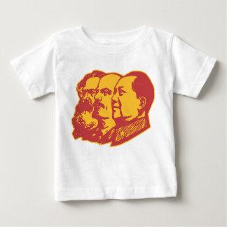 Marx Lenin Mao Portrait T Shirts