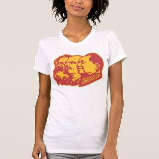 Marx Lenin Mao Portrait Tshirt