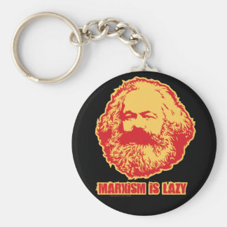 Marxism is Lazy Keychain