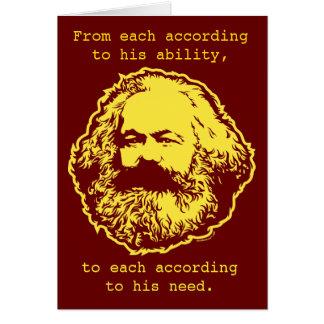 Marxist Birthday Card