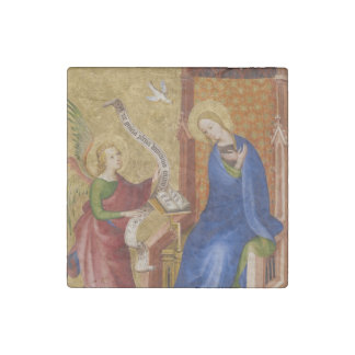 Mary and Angel of Annunciation Stone Magnets