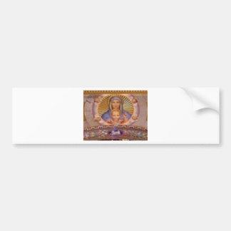 mary and child art bumper sticker