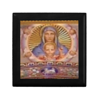 mary and child art gift box