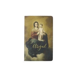 Mary and Child, Fine Art Moleskin Notebook
