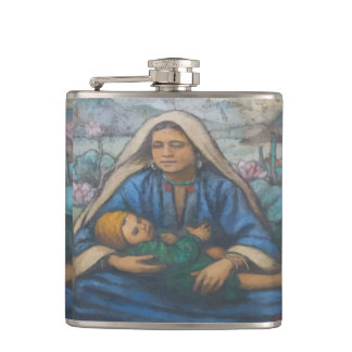 Mary and Jesus Flasks
