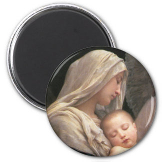 Mary and Jesus Magnet
