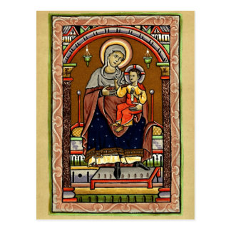 Mary and Jesus Postcard