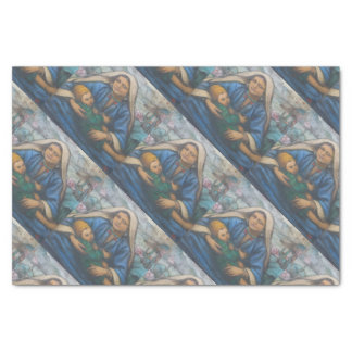 Mary and Jesus Tissue Paper