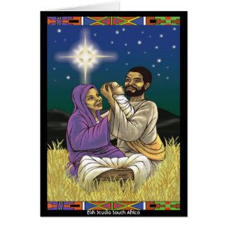 Mary and Joseph Card