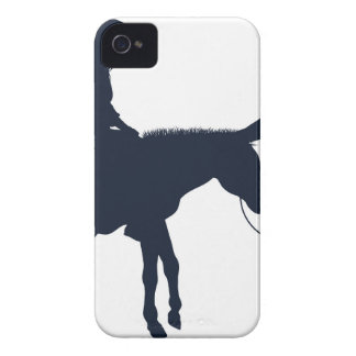 Mary and Joseph Christian Illustration Silhouettes iPhone 4 Covers