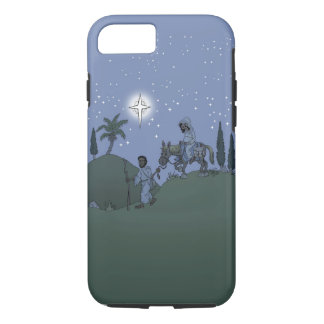 Mary and Joseph, Christmas design. iPhone 8/7 Case