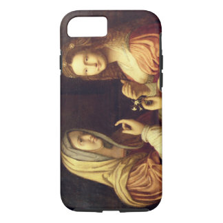 Mary and Martha (oil on panel) iPhone 7 Case