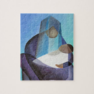 Mary and Messiah Jigsaw Puzzle