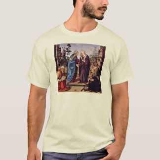 Mary And St. Elizabeth St. Nicholas And St. Anthon T-Shirt