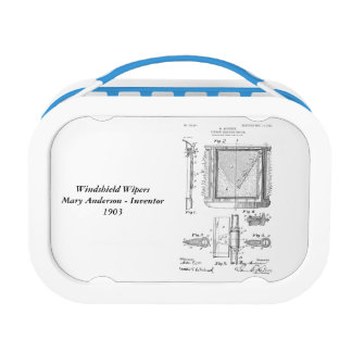 Mary Anderson - Windshield Wipers Lunch Boxes