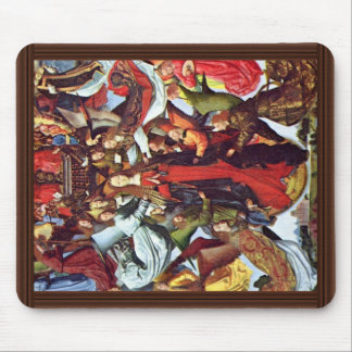 Mary As Queen Of Heaven By Meister Der Legende Der Mouse Pad