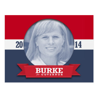 MARY BURKE CAMPAIGN POST CARD