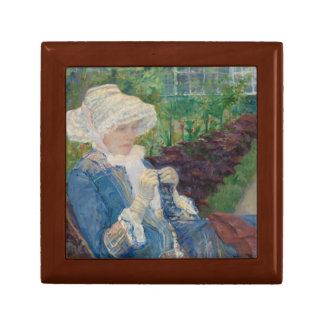 Mary Cassat- Lydia Crocheting in the Garden Gift Box