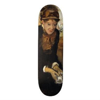 Mary Cassatt by Edgar Degas Skate Deck
