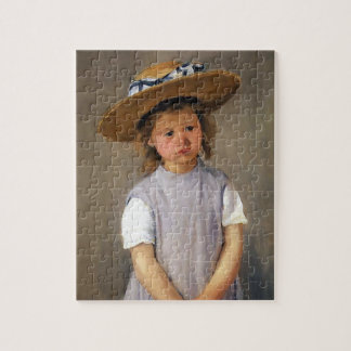 Mary Cassatt: Child in a Straw Hat Puzzles
