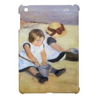 Mary Cassatt- Children Playing On The Beach iPad Mini Cover