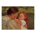 Mary Cassatt: Maternal Caress