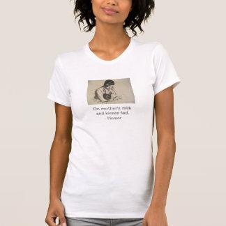 Mary Cassatt Mother Breastfeeding Baby T-Shirt