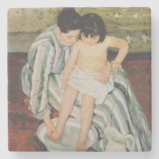 Mary Cassatt Mother Child Art Painting Stone Coaster