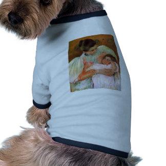 Mary Cassatt- Nurse and Child Doggie Shirt