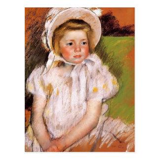 Mary Cassatt- Somone in a White Bonnet Postcard