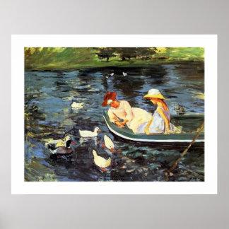 Mary Cassatt Summertime Two Poster
