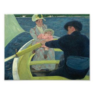 Mary Cassatt - The Boating Party Photo Print