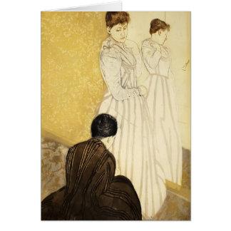 Mary Cassatt: The Fitting Card