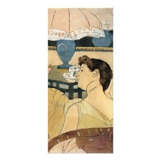Mary Cassatt- The Lamp Personalized Rack Card