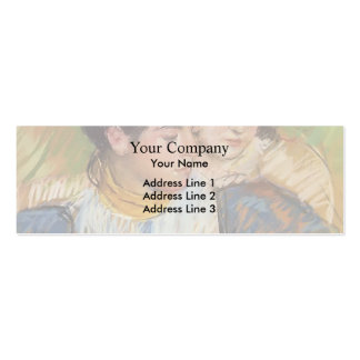 Mary Cassatt: The Two Sisters Business Card