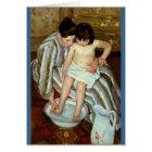 Mary Cassatt's The Child's Bath (circa 1892)