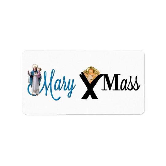 Mary Christ Child Manger Christmas