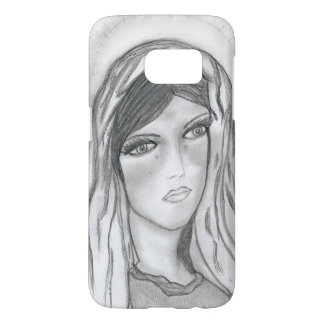 Mary Crying Samsung Galaxy S7 Case
