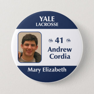 Mary Elizabeth - Andrew Cordia 3 Inch Round Button