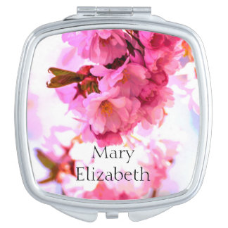 """""""Mary Elizabeth"""" Personalized Compact Mirror"""