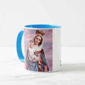 Mary Help of Christians Portrait Cup