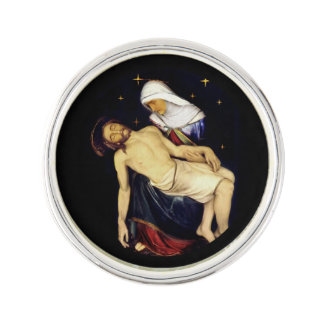 Mary Holding Jesus Lapel Pin