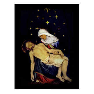 Mary Holding Jesus Postcard