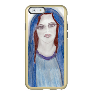 Mary In Blue Incipio Feather® Shine iPhone 6 Case